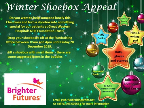Christmas Shoe Box Appeal 2019.Winter Shoebox Appeal Brighter Futures